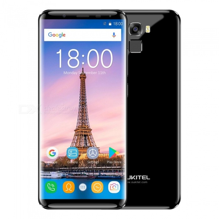 """OUKITEL K5000 5.7"""" HD Screen Octa-core Android 7.0 4G Phone with 4GB RAM 64GB ROM - Black"""