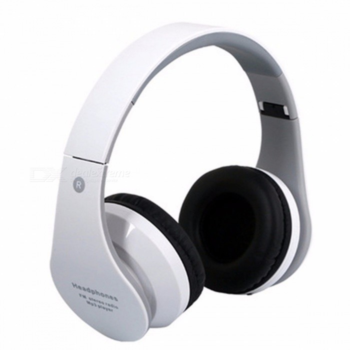 Buy B01 Foldable Bluetooth Headset Wireless Earphone Headphone Bluetooth Support USB Interface Radio Function Shock Bass Black with Litecoins with Free Shipping on Gipsybee.com