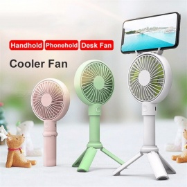 Handheld-USB-Fan-Cooler-Portable-3-Speed-Adjustable-Mini-Fan-2000mAh-Rechargeable-Handy-Small-Desk-Desktop-USB-Cooling-Fan