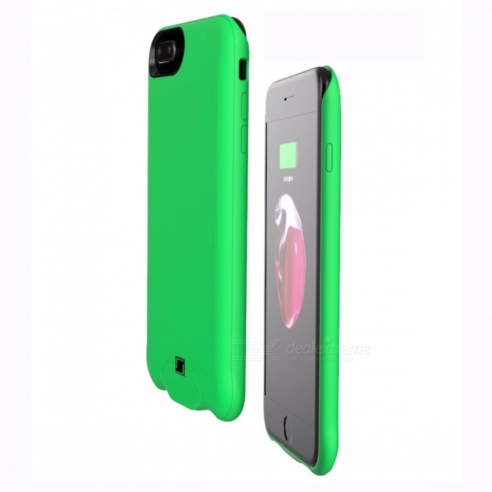 Buy 4500mAh External Battery Backup Mobile Battery Back Case Cover For IPHONE 8 Yellow with Litecoins with Free Shipping on Gipsybee.com