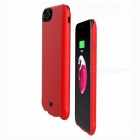 4500mAh External Battery Backup Mobile Battery Back Case Cover For IPHONE 8 Red
