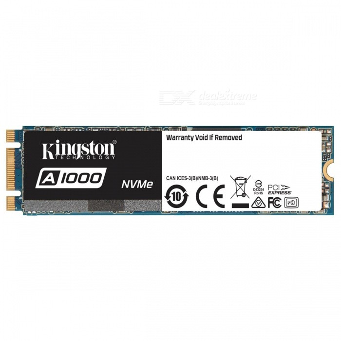 Buy Kingston SSDNow A1000 Series SA1000M8/960G 960GB SSD, 1500MB/s (Read), 1000MB/s (Write) NVMe with Litecoins with Free Shipping on Gipsybee.com