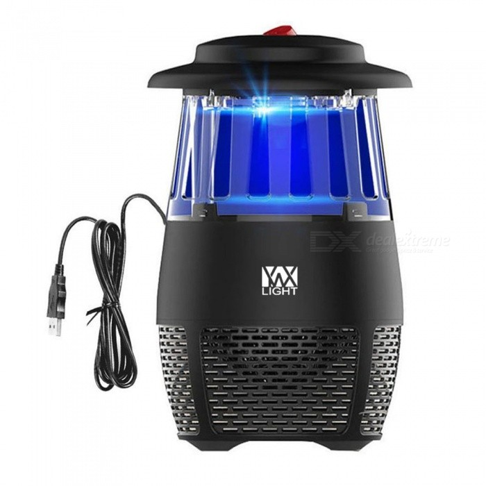 YWXLight USB Non-toxic LED Insect Fly Killer, Electronic Mosquito Trap Lamp