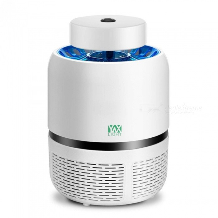 YWXLight LED Mosquito Lamp, USB Photocatalyst Household Mute Anti Mosquito Killer - White