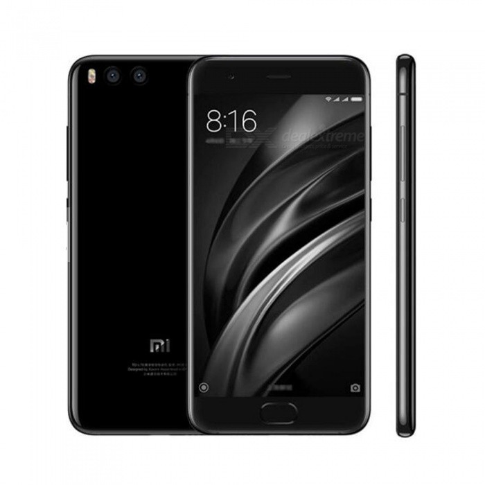 xiaomi Mi 6 Android 7.1.1 Phone with 6GB RAM, 64GB ROM - Black