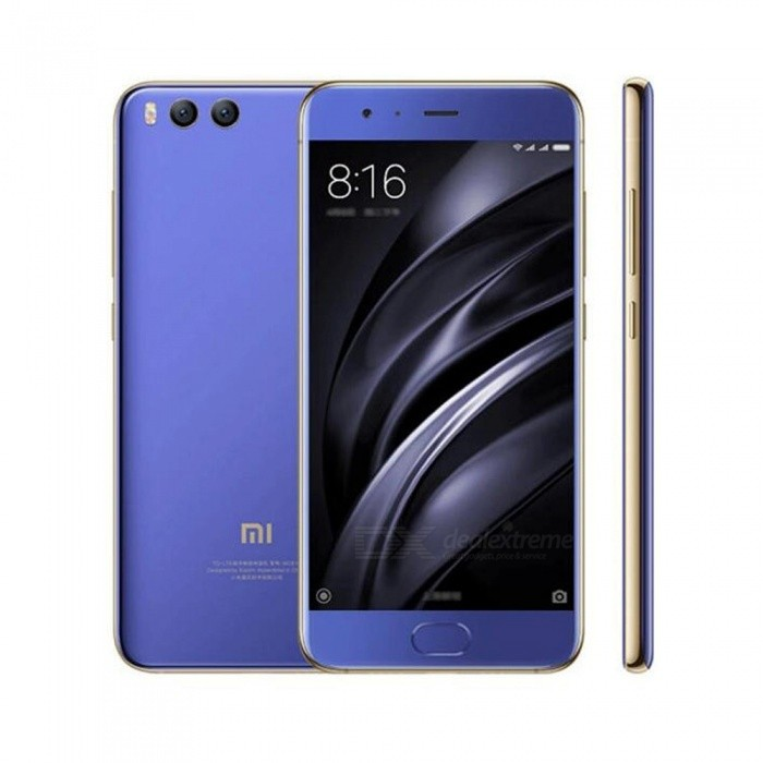 xiaomi Mi 6 Android 7.1.1 Phone with 6GB RAM, 128GB ROM - Blue
