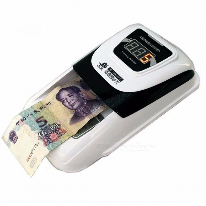 Intelligent Digital Multifunctional Cash Banknote Money Bill Counter Counting Machine White for sale in Bitcoin, Litecoin, Ethereum, Bitcoin Cash with the best price and Free Shipping on Gipsybee.com