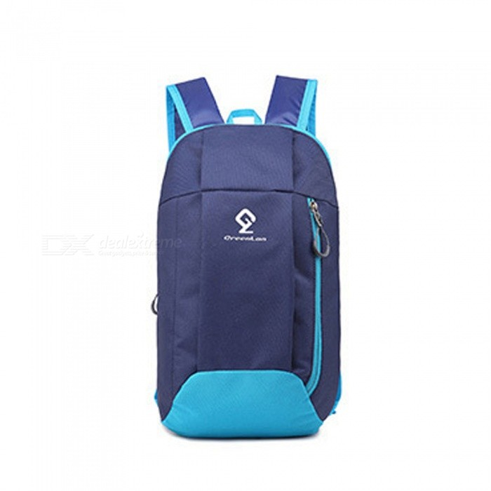 ZHAOYAO Outdoor Travel Camping Daily Sports Backpack, Portable Folding Sports Bag - Dark Blue