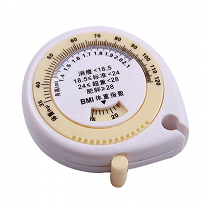 Buy OJADE Mini Plastic Retractable Soft Measure Tape Rule with Litecoins with Free Shipping on Gipsybee.com