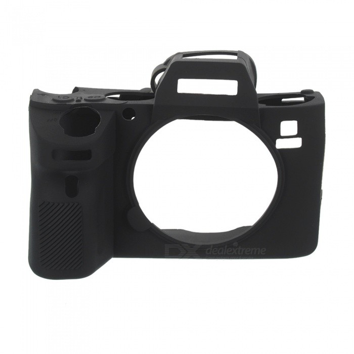 New Soft Silicone Camera Case for Sony A9 ILCE-9 - Black