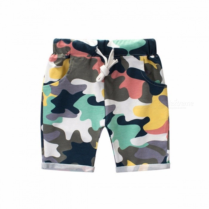 Children\'s Clothing Boy Camouflage Shorts Summer 2018 New  Korean Version Multi/10