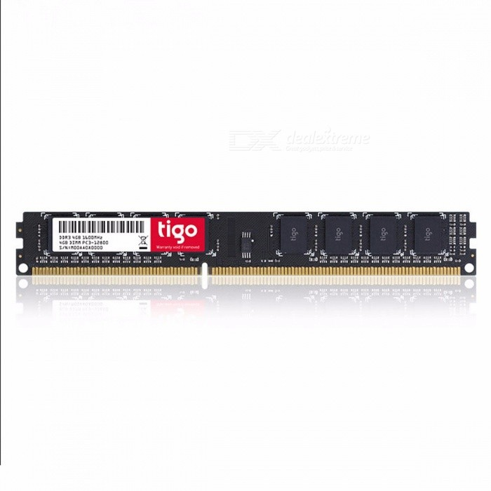 Tigo 1600MHz RAM Memory DDR3 4GB Memoria RAM For Desktop PC 4GB for sale in Bitcoin, Litecoin, Ethereum, Bitcoin Cash with the best price and Free Shipping on Gipsybee.com