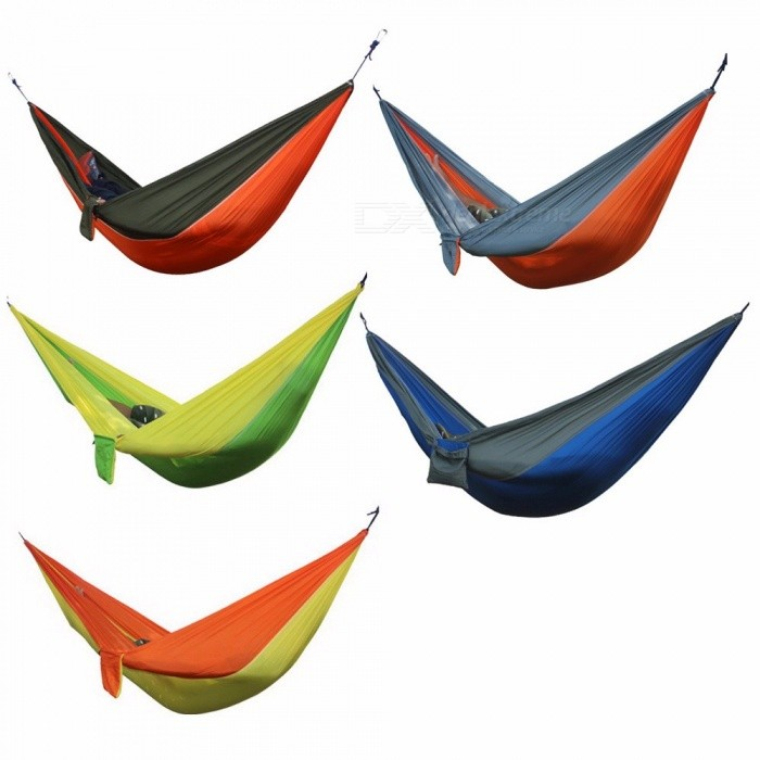 Hammock 2 Person Garden Sport Leisure Camping Hiking Travel Kits Hangmat Hanging Bed
