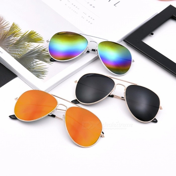 Classic Aviation UV400 Sunglasses Men Sunglasses Women Driving Mirror Male Sun Glasses