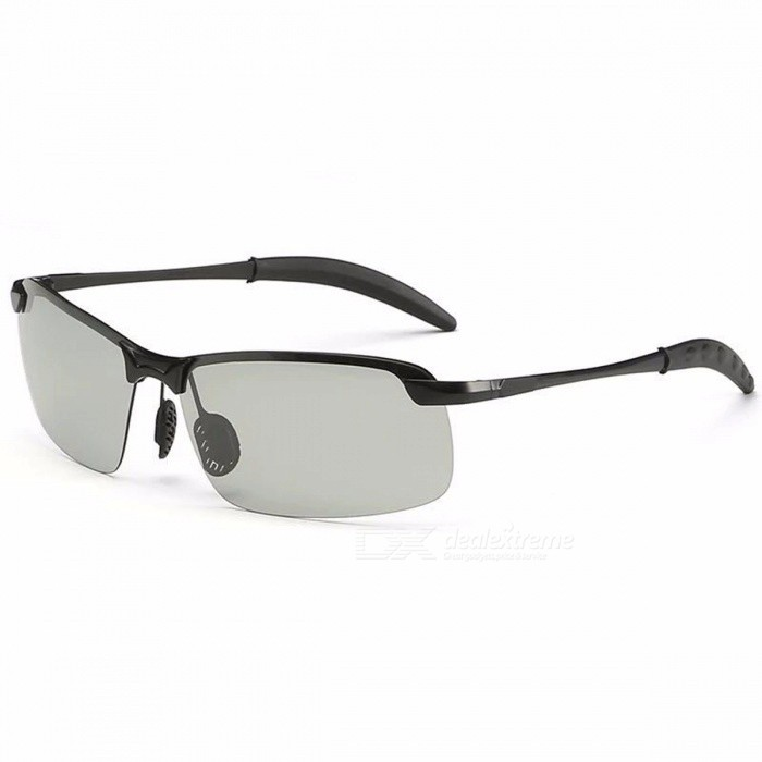 Buy Men\'s Polarized Sunglasses Classic Designer Mirror Anti-Glare Car Driving Sun Glasses For Men Gray with Litecoins with Free Shipping on Gipsybee.com