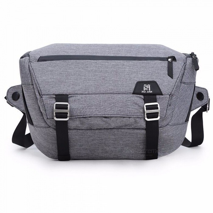 2018 New SLR Camera Bag Canon Nikon Digital Photography Shoulder Bag-Grey Gray Color