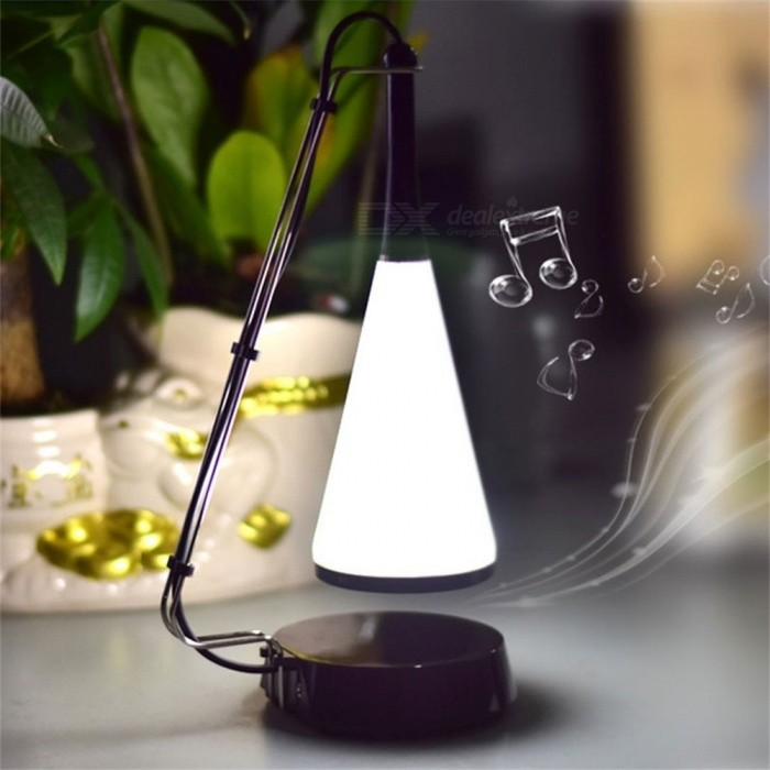 Music Desk Lamp LED Touch Lights Bedside Sound Lamp Charging USB Bluetooth Speaker Lighting Black/0-5W for sale in Bitcoin, Litecoin, Ethereum, Bitcoin Cash with the best price and Free Shipping on Gipsybee.com