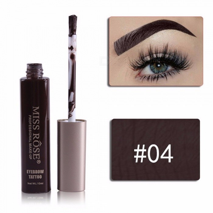Buy Eyebrow Dyeing Cream Square Tube Cover Waterproof Magic Eyeliner Long Lasting Blooming Easy To Wear Black with Litecoins with Free Shipping on Gipsybee.com