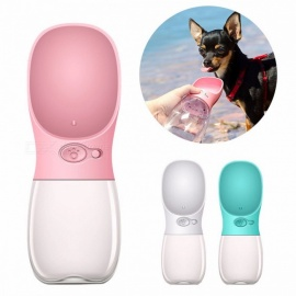 350ML Portable Pet Dog Water Bottle Travel Puppy Cat Drinking Bowl Outdoor Pet Water Dispenser Feeder Chihuahua Pet