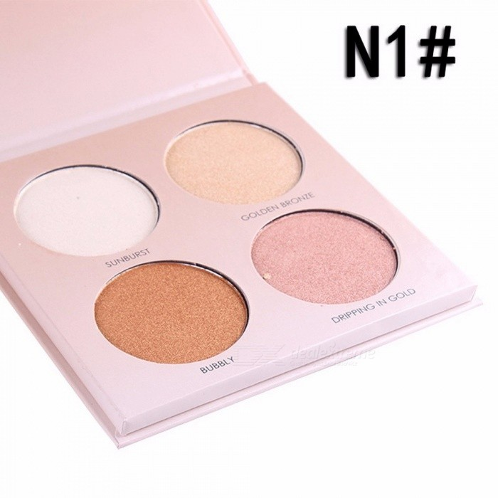 Buy Miss Rose Good Pigmentation 4 Color Eyeshadow Palette Glow Kit Abh Makeup Eye Shadow Palettes For Women Abh Cosmetics Light Yellow with Litecoins with Free Shipping on Gipsybee.com
