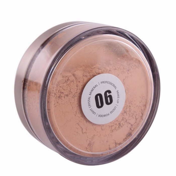 Buy Loose Powder Foundation Face Mineral Brand Makeup Long-Lasting Natural Matte Bare Colors Miss Rose Cosmetics Make Up Light Yellow with Litecoins with Free Shipping on Gipsybee.com