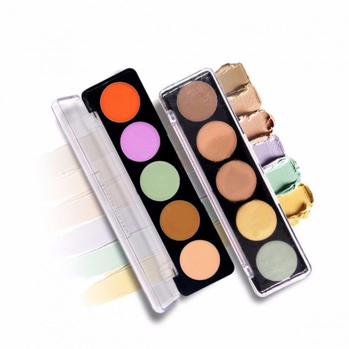 Buy Miss Rose Concealer Face Makeup Natural Brighten Foundation Whitening Base Concealer Cream Palette Sky Blue with Litecoins with Free Shipping on Gipsybee.com
