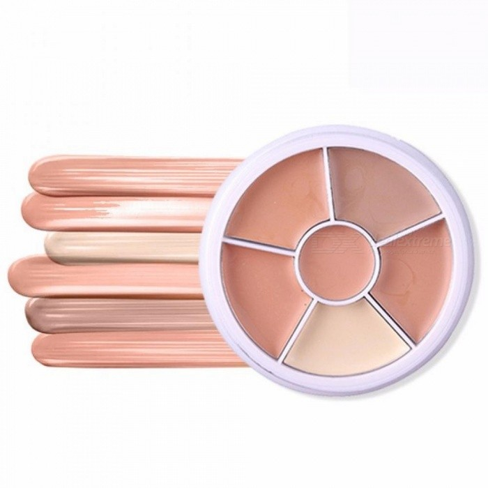 MISS ROSE Amazing Concealer Palette Long Lasting Beauty Base Foundation Cream Kit Make Up Cosmetics Corrector Brightener
