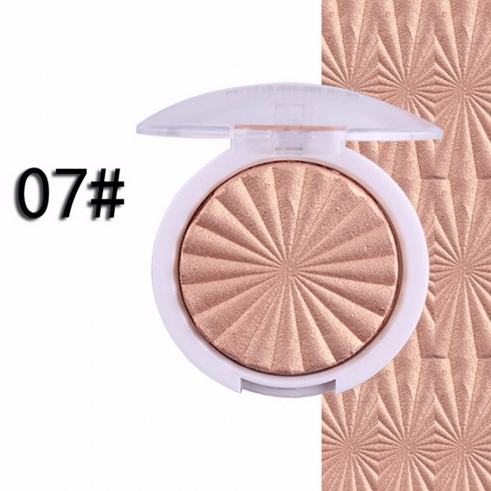 Miss Rose Brand Baked Powder Foundation High Light Powder Stereo V-face White Concealer Cheek Strengthen Silhouette Brown