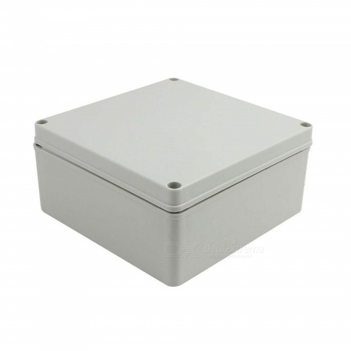 BTOOMET-200mm-x-200mm-x-95mm-Dustproof-IP65-Junction-Box-DIY-Case-Enclosure-Gray