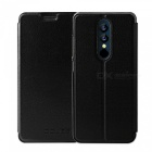 OCUBE Protective Flip-open PU Leather Case for UMIDIGI A1 Pro 5.5 Inches - Black
