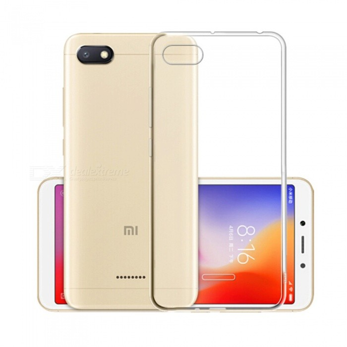 Naxtop TPU Ultra-thin Soft case for Xiaomi Redmi 6A - Transparent
