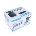 "MZ 2.5"" 720P Wide Angle 6-LED Night Viewing Digital Car DVR - Black"