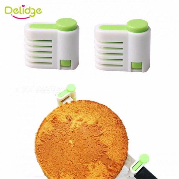 Buy 2pcs/lot 5 Layers Bread Slicer Food-Grade Plastic Cake Bread Cutter 5 Levers Cutting Bread Knife Splitter Toast Slicer Green with Litecoins with Free Shipping on Gipsybee.com