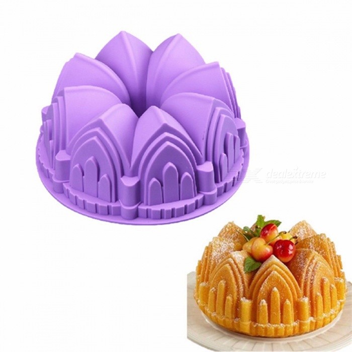 Big Crown Silicone Cake Mold 3D Birthday Cake Decorating Tools Bread Fondant Mold Baking Pastry Tool Multi