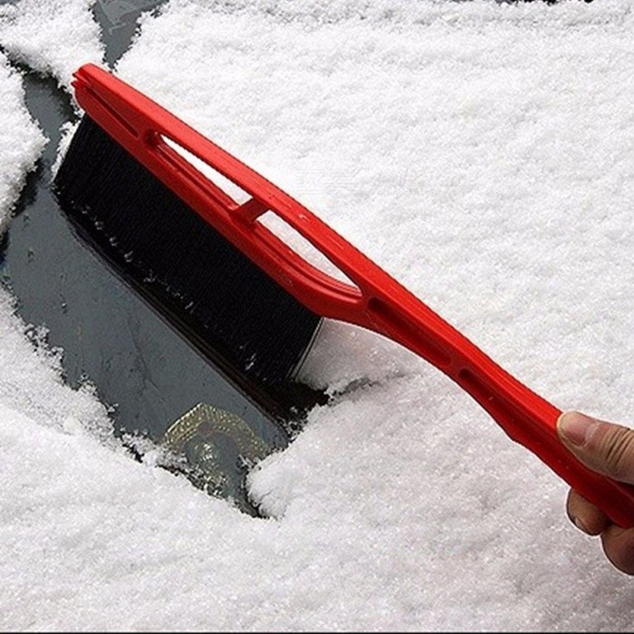 Car Vehicle Durable Snow Ice Scraper Snow Brush Shovel Removal For Winter Random Color