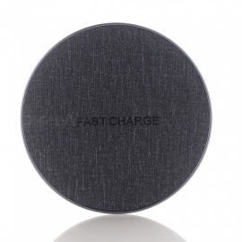 Qi Fast Charger, Wireless Charging Pad for IPHONE X / 8 / 8 Plus / Galaxy S9 S8