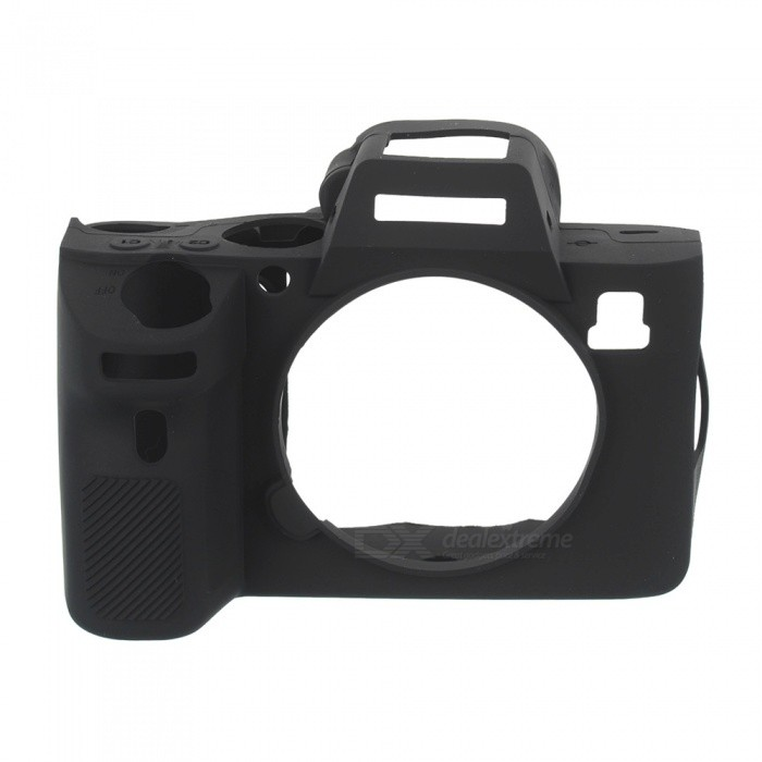 New Soft Silicone Camera Case for Sony A7R3 - Black