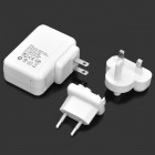 Teho 4-paapuuri USB/laturia US/EU/UK Plug adapterit (100 ~ 240V)