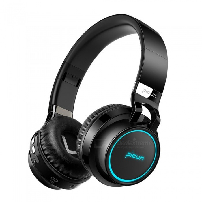 3ff6ca63fb4 P60 Bluetooth Headphone Wireless Headphones 7 Colors Glowing 20 Hrs Music  Time With MIC For Phone Xi