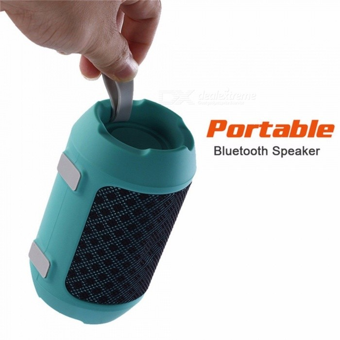 BS116 Style Karabale Big Bass Outdoor Wireless Bluetooth Speaker Sports Portable  Bike Music Mini Speakers Black/Speaker