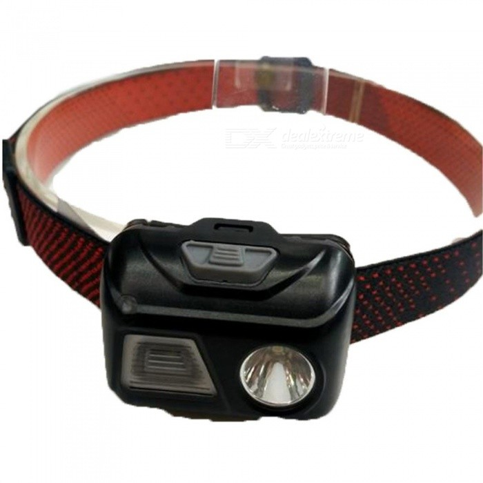 Buy Mini Outdoor Fishing LED Headlamp Light Sensor Waterproof Memory Headlight Head Lamp Lighting Light Flashlight Torch Black with Litecoins with Free Shipping on Gipsybee.com