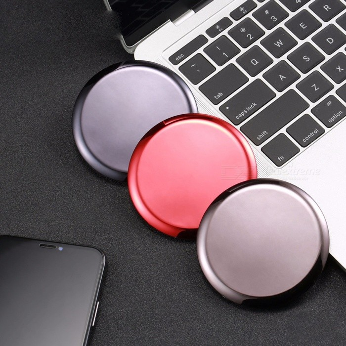 Buy Remax RP-W11 7.5W Qi Wireless Charger For IPHONE X 8 Plus 10W Wireless Charging Pad Device For Samsung Xiaomi Smartphone Silver with Litecoins with Free Shipping on Gipsybee.com