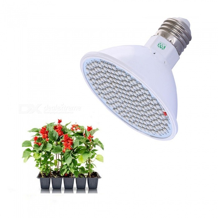 Buy YWXLight 20W E27 200 Bead Red + Blue AC85-265V LED Indoor Fleshy Flower Water Culture Grow Grow Lamp with Litecoins with Free Shipping on Gipsybee.com