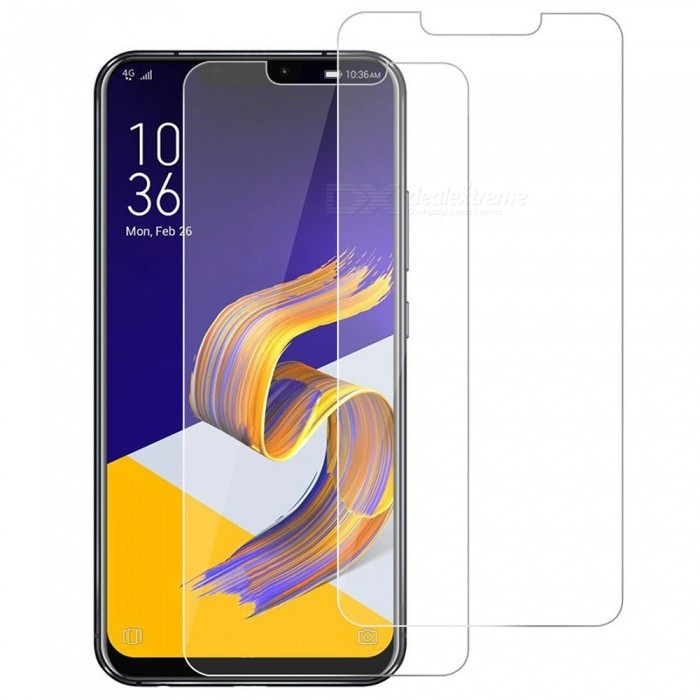 Buy 2pcs ASLING Tempered Glass Screen Films for Asus ZENFONE 5 ZE620KL with Litecoins with Free Shipping on Gipsybee.com