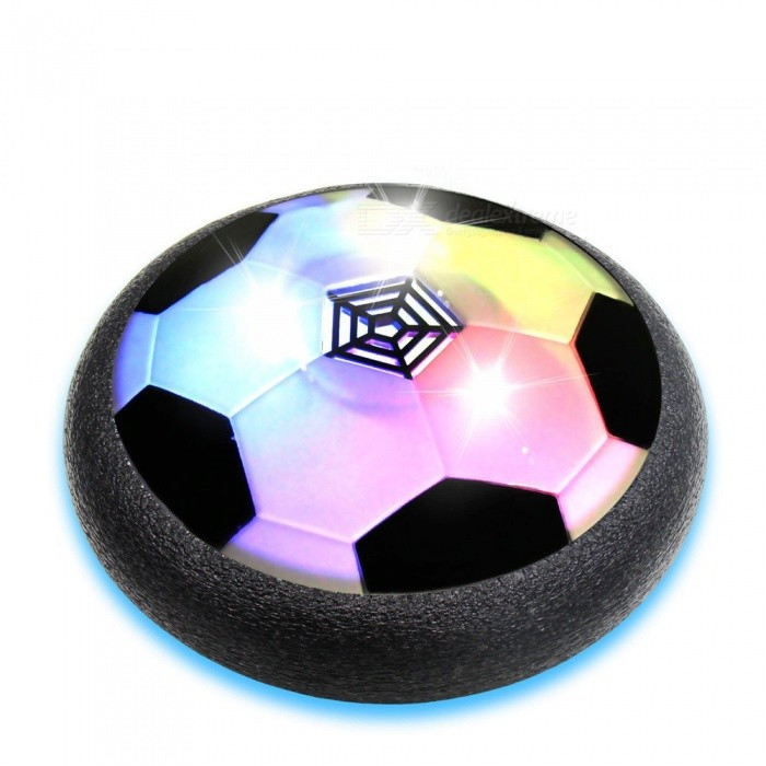 Buy YWXLight Colorful LED Lights Air Power Soccer Children Football Sport Night Lamp - Black with Litecoins with Free Shipping on Gipsybee.com