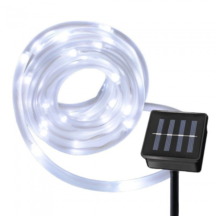 YWXLight Solar String Rope Lights 10 Meters Waterproof 100 LED Light Strings for Outdoor Decor
