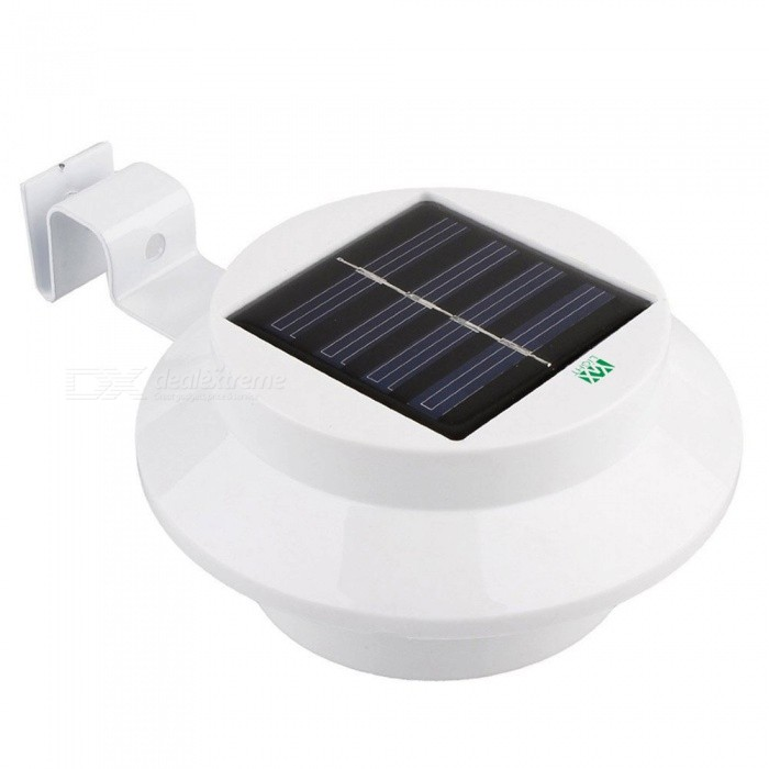 Buy YWXLight Waterproof Outdoor 3 LED Bulb Solar Power Light for Garden, White Light with Litecoins with Free Shipping on Gipsybee.com