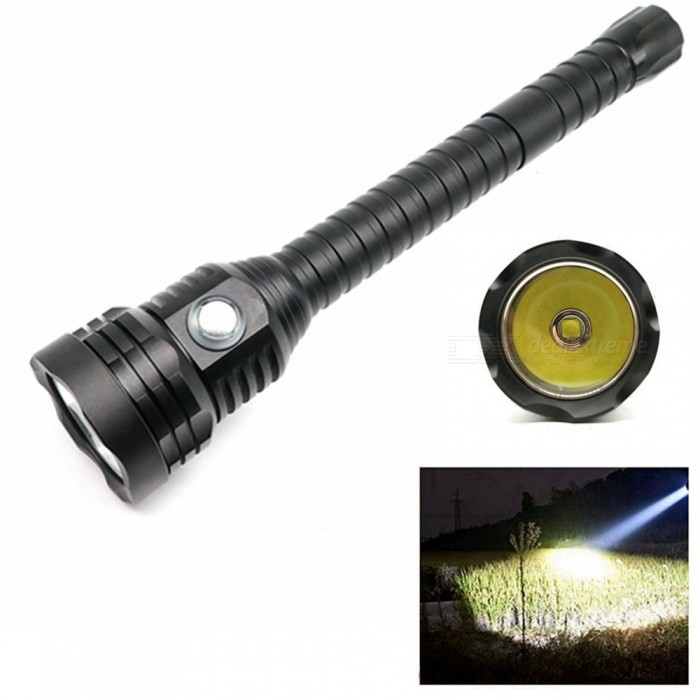 ZHAOYAO CREE XHP70.2 LED 4000 Lumens 4-Mode 18650 Waterproof 100m LED Tactical Diving Flashlight