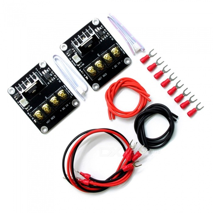 ZHAOYAO Heat Hot Bed Power Module Expansion Board MOS Tube High Current  Load Module Kit for 3D Printer Part