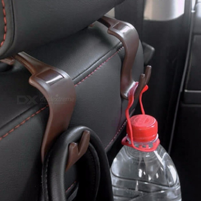 Cup Holders 4pcs Auto Fastener Clip Universal Car Seat Back Hooks